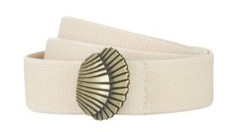 Belt with Shell Buckle