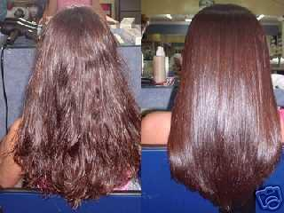 Brazilian Hair Straightening Treatment!