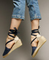 Are espadrilles too casual for a late afternoon, traditional wedding?